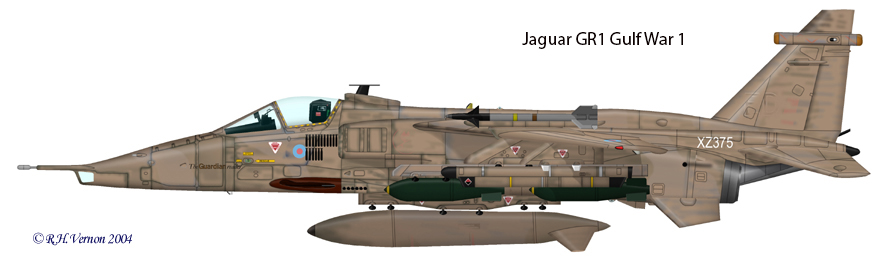 Jaguar GR1 Gulf War 1