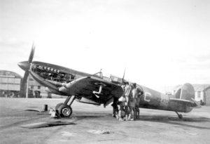 Spitfire PT470 Nicosia Oct46