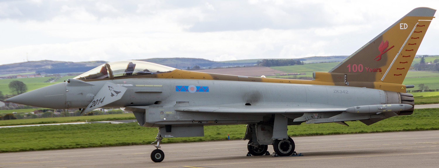 Typhoon Centenary Aircraft